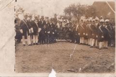 1924_Königspaar_Wilh.Feldkamp-Maria_Kleideiter