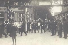 1927_4._Juli_Junggesellen-Schützenfest_König_Josef_Droppelmann,_Bushok