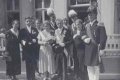 1934_Schützenfest_Königspaar_Willy_Terhörst_u._Hedwig_Decker