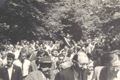 1958_Gerhard_Baumeister,_auf_dem_Bild_unten_Gerh._Baumeister_sen_(Hut)_,_Bernhard_Droppelmann,_Josef_Roßmöller
