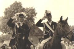 1959_Schützenfest_Adjudaten_v.r._Hermann_Terhörst,_Rudi_Droppelmann