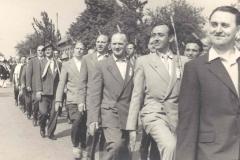 1959_Umzug_v.r._Josef_Epping,_Hr._Lohkamp,_Alois_Thor