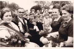 1966_Königspaar_Frz.Marpert-Hanna_Kramer,_Ehrendamen_Guste_Winkelhaus_und_Änne_Marpert_,