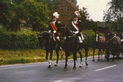 1975_Schützenfest_Josef_Sundorf_und_Josef_Vögeding