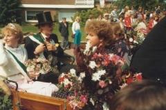 1982_Schützenfest_Rückmarsch_Karl_Heinz_Boll_und_Mariele_Specking