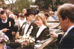 1985_Kutsche_vl._Bernd_Dorppelmann,_Bernhard_Olthoff,_Waltraud_Kleideiter