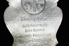 1992 Plakette Rückseite