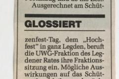 1992 Schützenfest König Thomas Volmer
