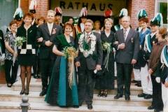 1998_Thron__Helmut_Bröker_und_Maria_Fleige