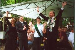 2001_Königspaar_Bernhard_Schlätker_und_Irmgard_Bölling